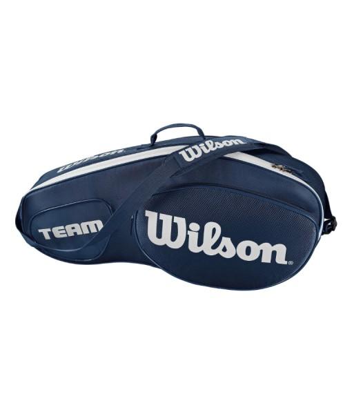 Wilson Team III x 3 Racket Bag blue