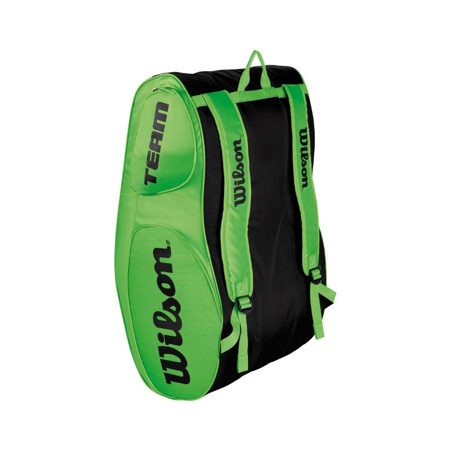 Wilson Team Iii Racket Bag X 12 Green 2018 Tennis