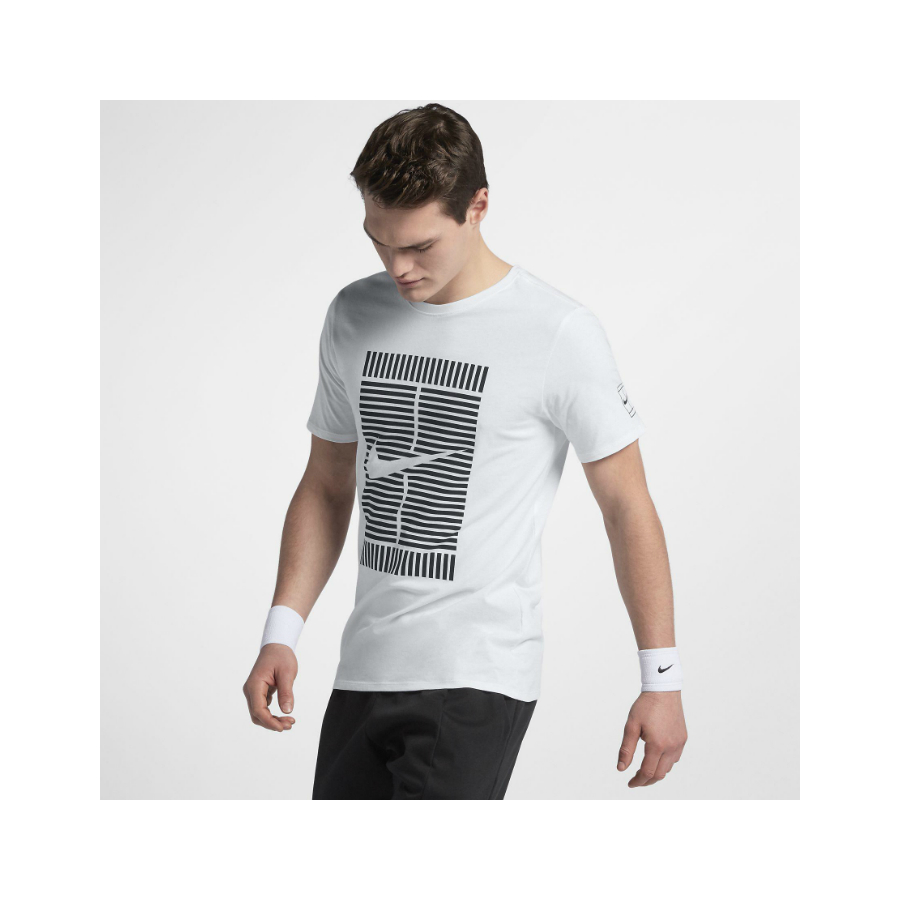 63d8e4f2 NIKE MEN'S NIKECOURT TEE 2018 - Pure Racket Sport