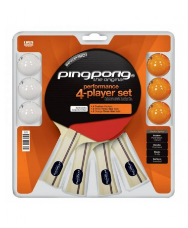 Ping Pong 4 player Set Table tennis