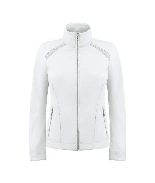 Poivre blanc ladies tennis jacket white