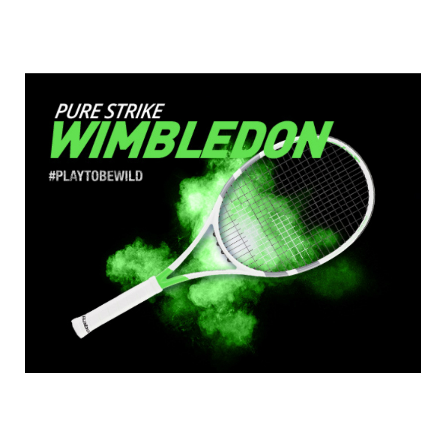 Have You Seen The NEW Design of BABOLAT PURE STRIKE For WIMBLEDON ... f0c636eb1b6f3