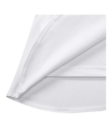 Nike girls flouncy tennis skirt white