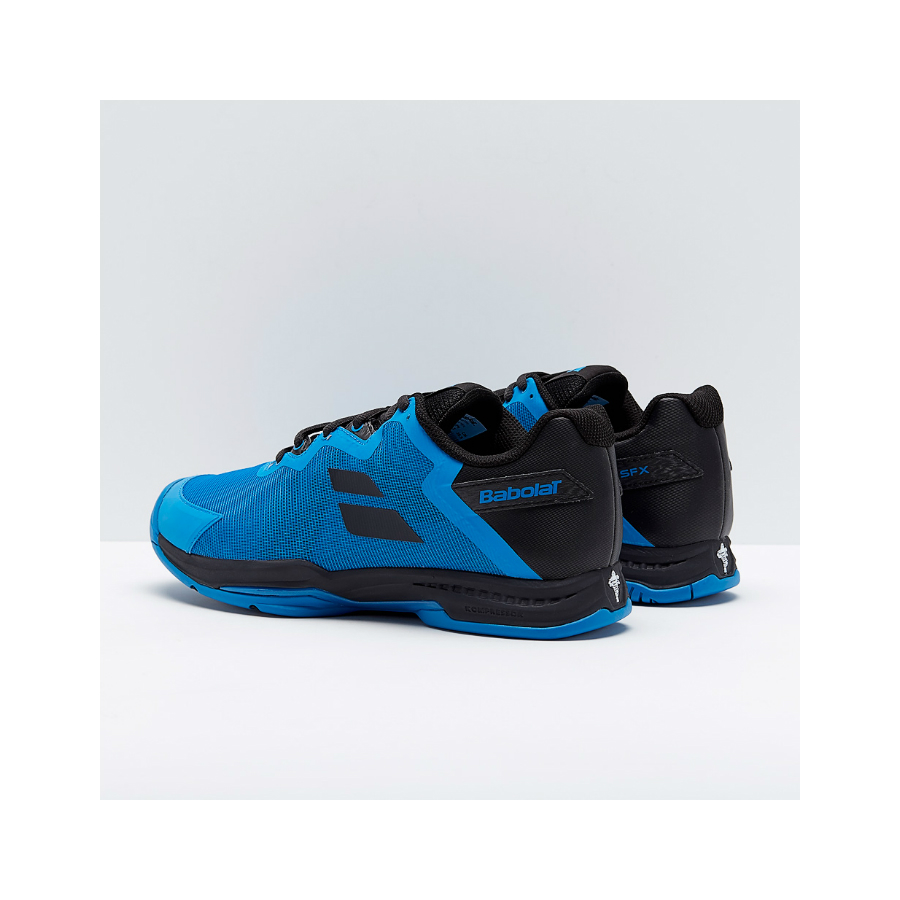 bABOLAT SFX 3 MENS TENNIS SHOE - DIVA BLUE/BLACK