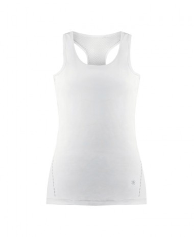 Poivre Blanc Ladies Tennis Tank White