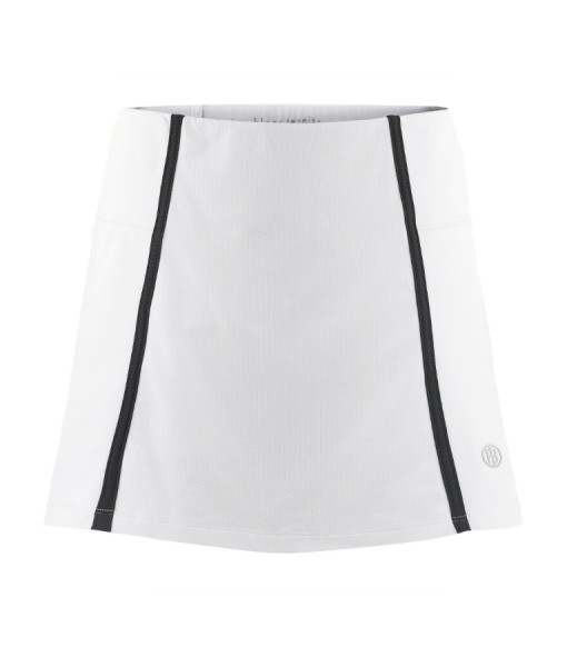 Poivre Blanc White Tennis Skirt