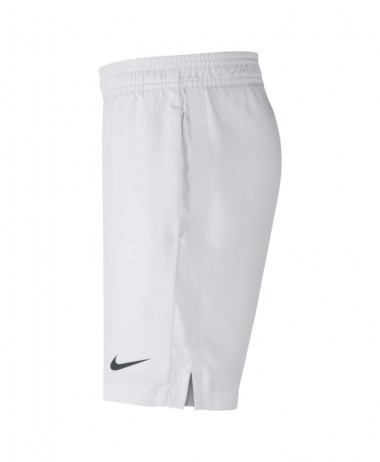 boys nike court tennis shorts white
