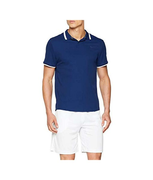Nike Mens Advantage Polo Blue