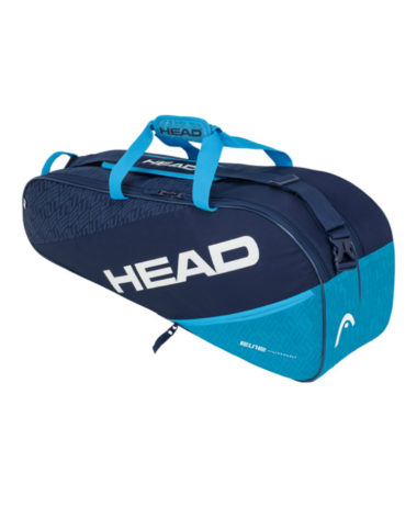 Head Elite Combi 3 x Racket Bag - Blue