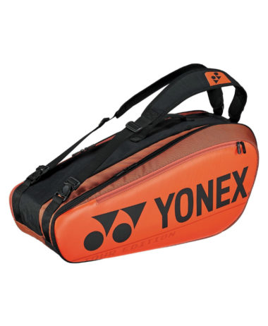 Yonex pro 6 x Racket Bag - Copper Orange