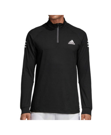 Adidas club Midlayer Tennis Top black