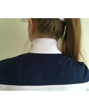 Poivre Blanc Ladies Tennis Jacket detail