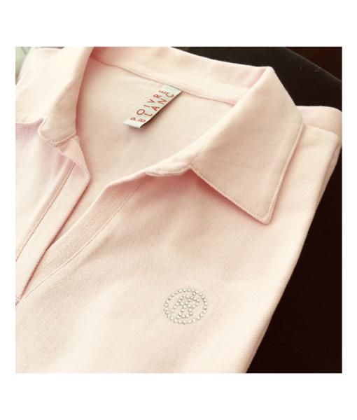 Poivre Blanc Pink Polo Tennis