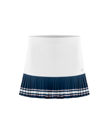 Poivre Blanc skirt pleated