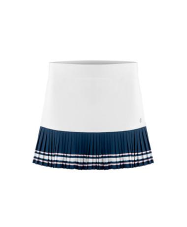 Poivre Blanc skirt pleated