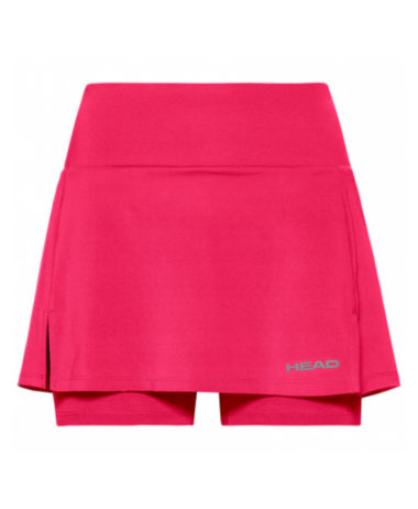 Head Girls Tennis Skirt - Coral Red