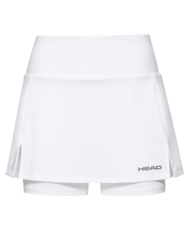 hEAD GIRLS TENNIS SKIRT - WHITE