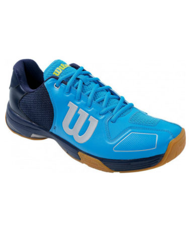 Wilson Vertex Mens Indoor court shoe - Hawaiian blue
