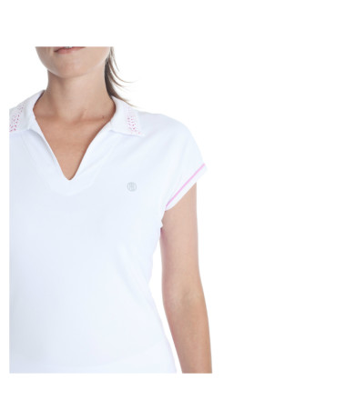 poive blanc womens polo