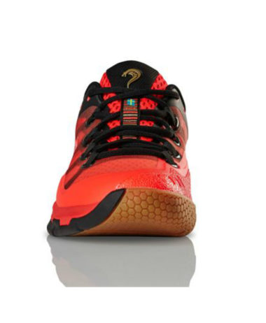 Salming Kobra 2 Mens Indoor Shoe - Lava Red / Black