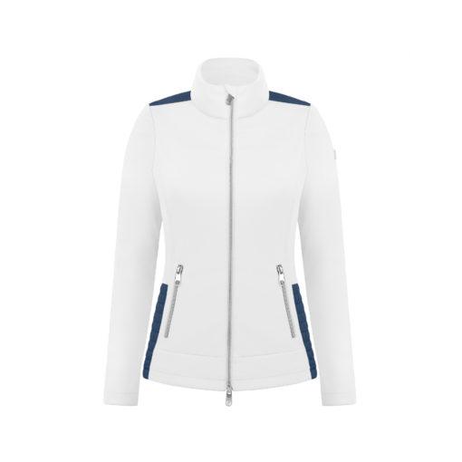 poivre blanc tennis ladies jacket white