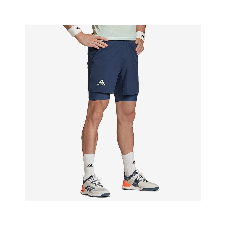 Adidas Mens Ergo Heat Rdy 2in1 Shorts