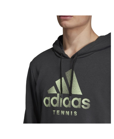 Adidas Mens Cat Tennis Hoodie Top