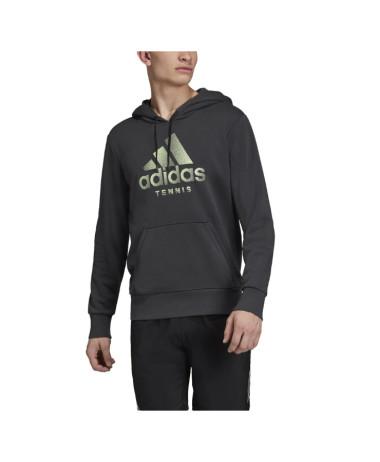Adidas Mens Cat Hoodie Grey