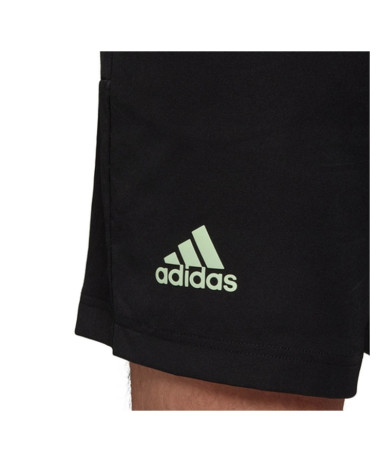 Adidas Mens New York solid Tennis shorts