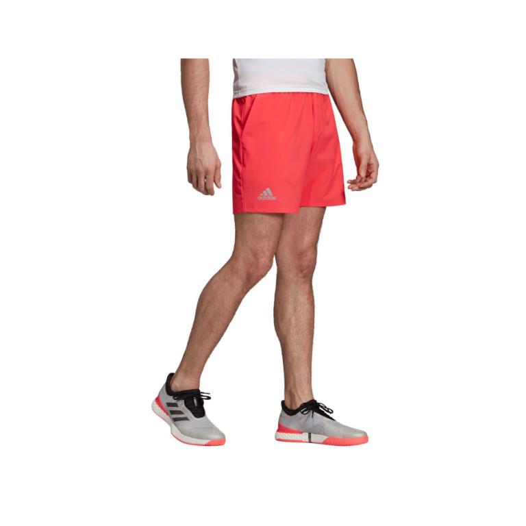 Adidas Mens club SW Short Red (1)