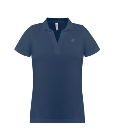 Poivre blanc tennis ladies polo shirt - Deep Blue Sea