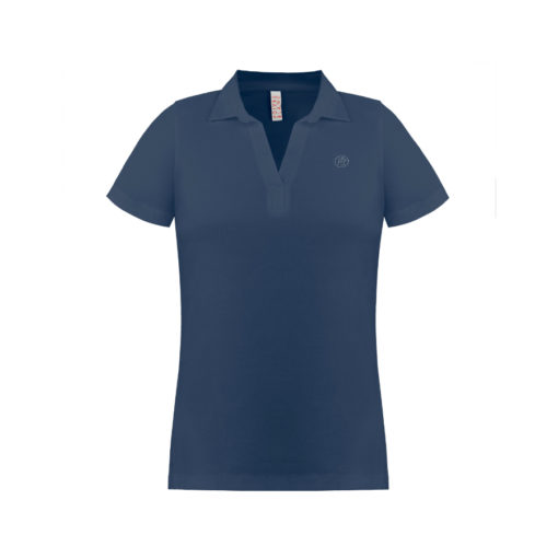 Poivre Blanc Ladies polo shirt – Blue