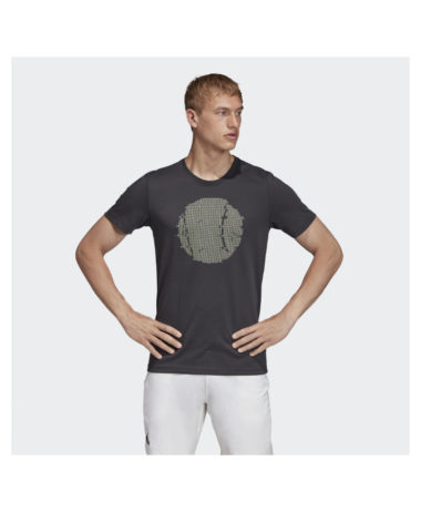 aDIDAS MENS FLUSHING GSX TENNIS TEE