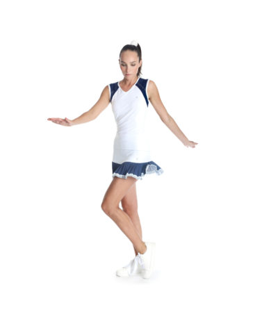 POIVRE BLANC WOMENS TENNIS TANK TOP