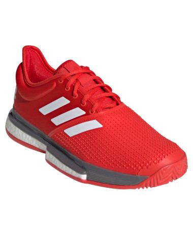Adidas Mens Solecourt Tennis Shoe