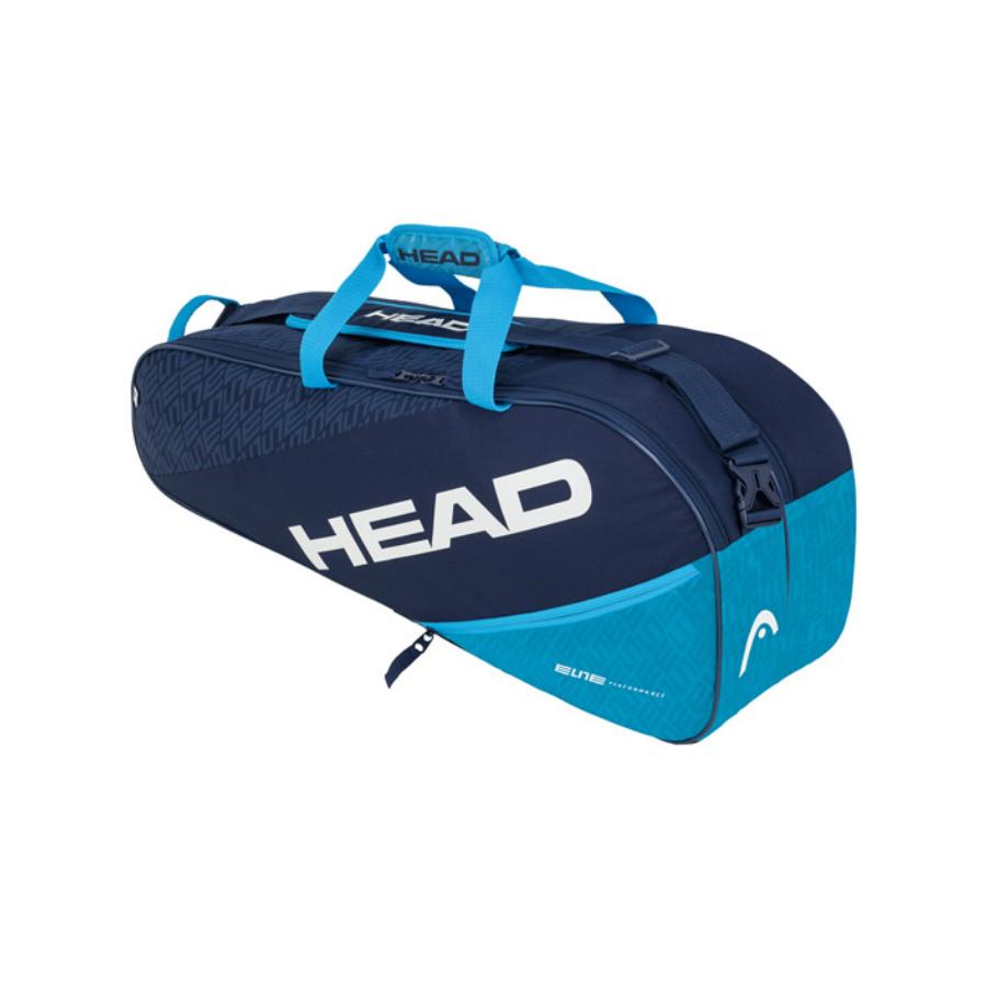 Head Elite combi 6 x Racket Bag - Blue