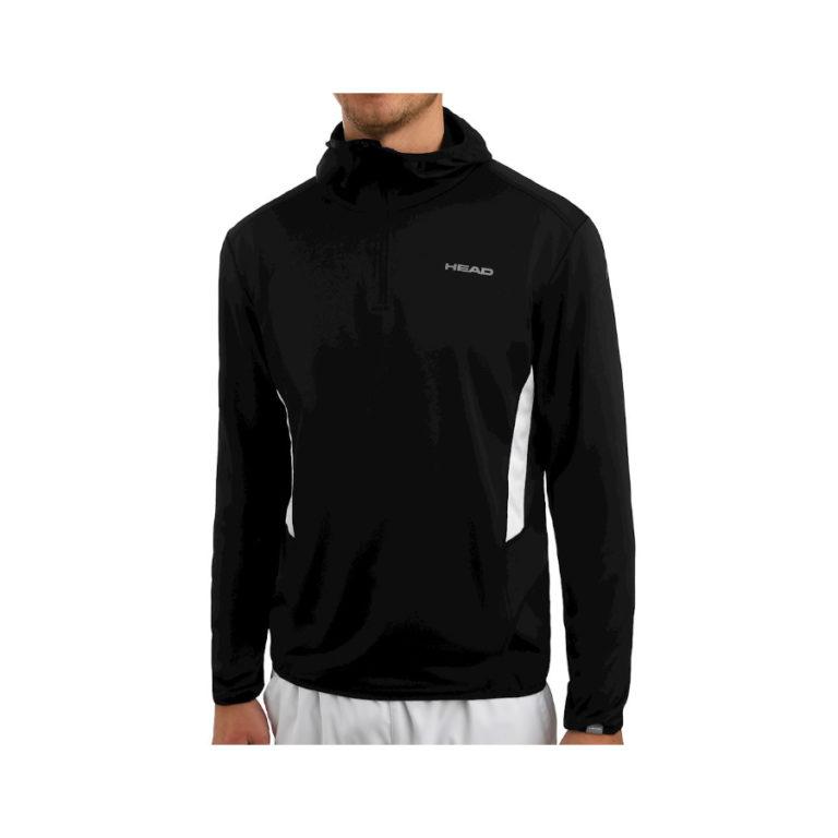 Head Mens Club black hoodie