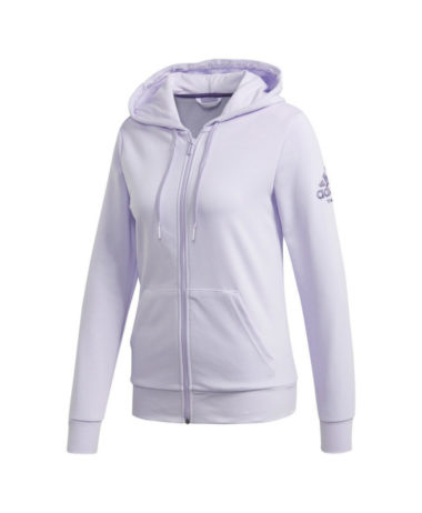Adidas tennis ladies hoodie - purple tint/lilac