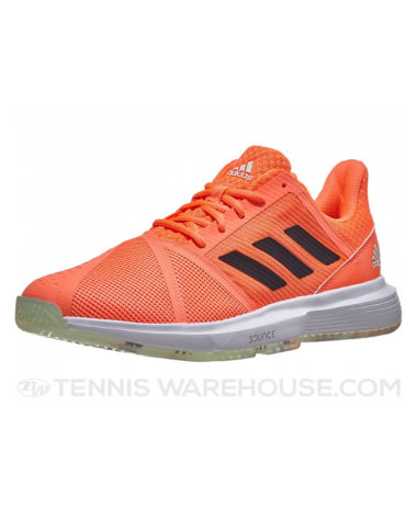 aDIDAS COURT JAM BOUNCE TENNIS SHOES 2020 - oRANGE