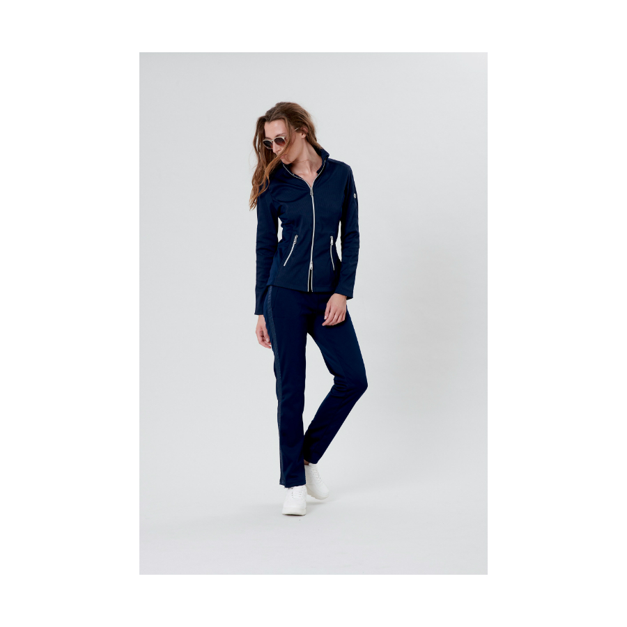 Poivre blanc Tennis lADIES Jacket - Oxford Blue 2020
