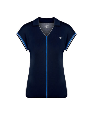 poivre blanc tennis ladies polo - Oxford Blue 2020