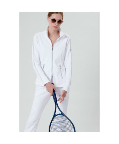 Poivre blanc tennis ladies jacket - white 2020