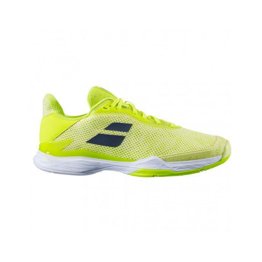 babolat jet tere womens tennis shoe - lIMELIGHT YELLOW