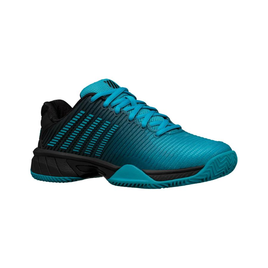 K-Swiss Hypercourt Express 2 HB Boys Tennis Shoe - algiers blue/black