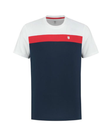 K-Swiss Mens Heritage Sport Tennis T-Shirt 2020