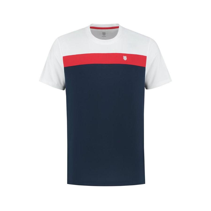 K-Swiss Mens Heritage Sport Tennis T-Shirt 2020