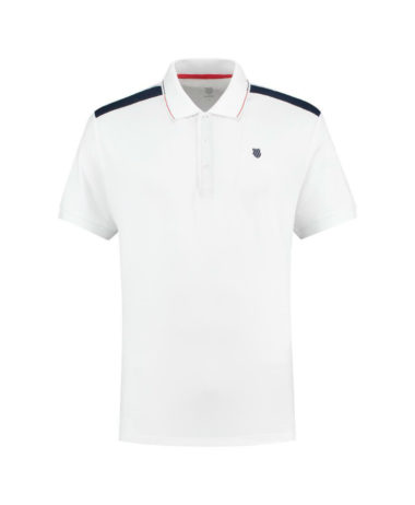 K-Swiss Mens Tennis Heritage Polo shirt 2020