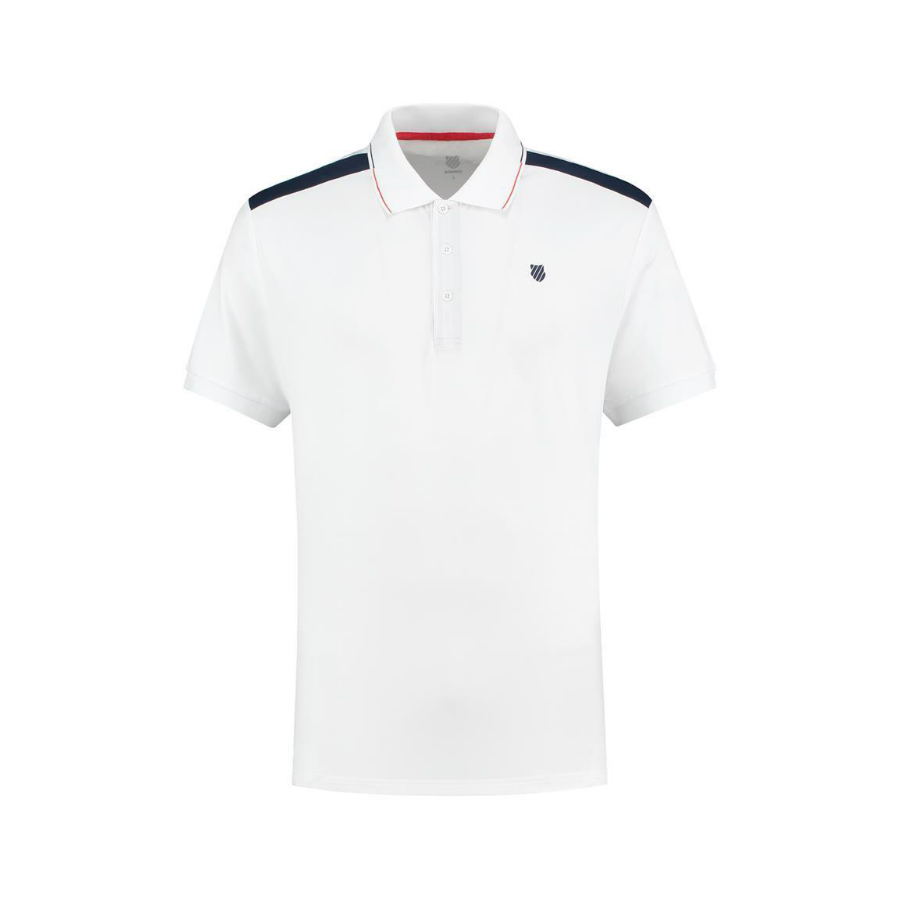 K-Swiss Mens Tennis Heritage Polo shirt 2020