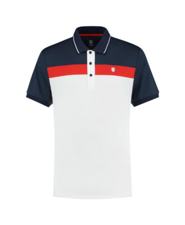 K-SWISS MENS TENNIS HERITAGE POLO 2020