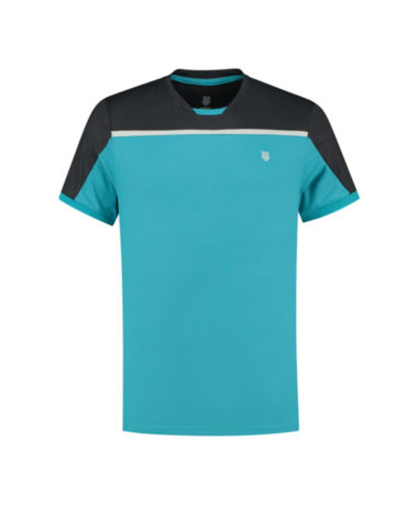 K-SWISS MENS TENNIS HYPERCOURT CREW T-SHIRT 2020